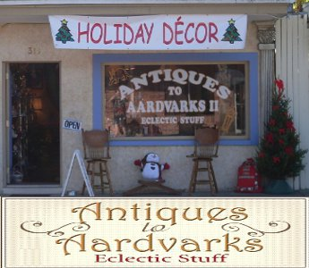 Antiques to Aardvarks