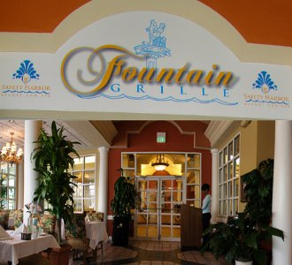 Safety Harbor Spa`s Fountain Grille